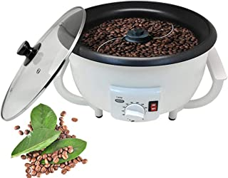 Home Coffee Beans Roaster Machine Electric Peanut Baking Machine Household Drying Dried Fruit Temperature Adjustable Durable Non-Stick Coating Baking Tools Capacity 750g (220V EU Plug)