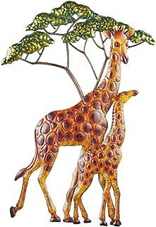 Best metal giraffe wall art Reviews