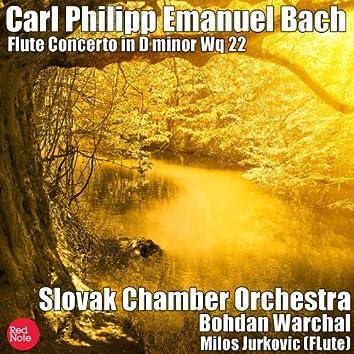 Bach: Flute Concerto in D minor Wq 22
