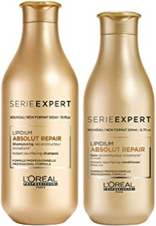 LOREAL ABSOLUT REPAIR SHAMPOO AND CONDITIONER 300ML