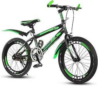 Kids' BikesBroken Wind Kids' Bikes 20 Inches, High Carbon Steel Frame Skid Resistant Tire Single Speed Mountain Biking Out...