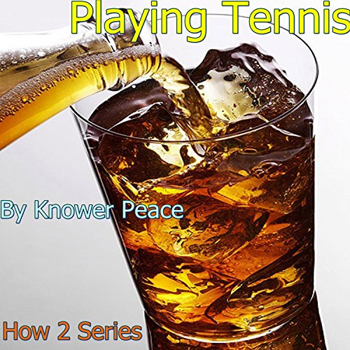 Playing Tennis audiobook cover art