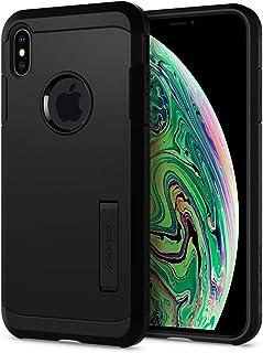 【Spigen】 スマホケース iPhone XS Max ケース 6.5インチ 対応 耐衝撃 米軍MIL規格取得 スタンド機能 タフ・アーマー 065CS25130 (ブラック)