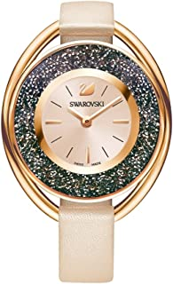 Swarovski Crystalline Oval Ladies Watch - Pink - 5296319