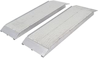 Guardian S-3612-1500-P Dual Runner Shed Ramps with Punch Plate Surface-12 Wide, 3'Long