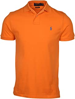 Mens Custom Slim Fit Mesh Polo Shirt