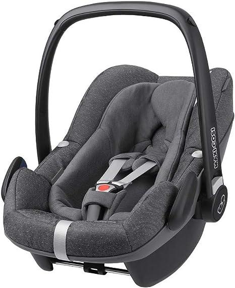 Maxi-Cosi Pebble Plus Baby Car Seat Group 0+, ISOFIX Car Seat, i-Size, 0-12 m, 0-13 kg, 45-75 cm, Sparkling Grey: image
