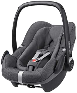 maxi cosi pebble Maxi-Cosi Pebble Plus Babyschale, sicherer Gruppe 0 i-Size Kindersitz 0-13 kg, nutzbar ab der Geburt bis ca. 12 Monate, passend für FamilyFix Two Basisstation, sparkling grey