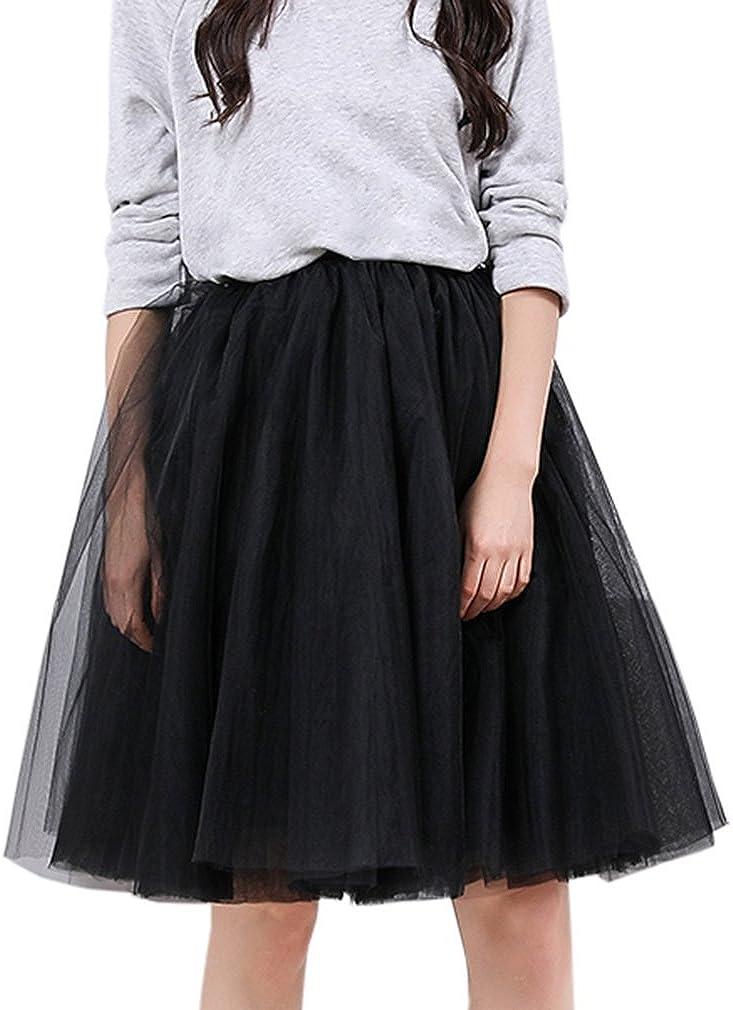 Wedding Planning Women's Short Sheer Tulle Overlay Skirt