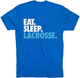 Eat Sleep Lacrosse Youth T-Shirt   Lax Tees by ChalkTalk Sports   Multiple Colors   Youth Sizes