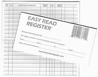 purchase checkbook registers