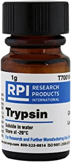 RPI Trypsin Powder, 1 Gram, for Removal of Adherent Cells