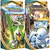 Pokemon Sword and Shield Darkness Ablaze Elite Trainer Both Theme Decks Set