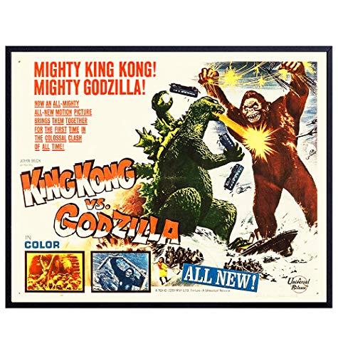 Godzilla Vs Kong - Horror Movie Pos…