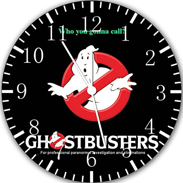 Ghostbusters Frameless Borderless Wall Clock X47 Nice For Gift Or Room Wall Decor
