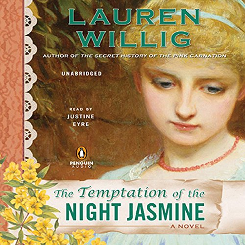 The Temptation of the Night Jasmine audiobook cover art