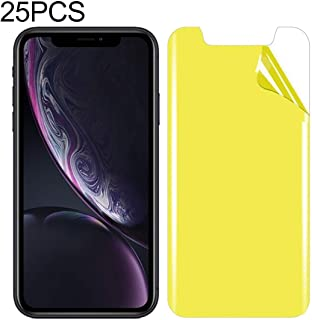 MISS FLORA Phone accessories .25 PCS For iPhone XR Soft TPU Full Coverage Front Screen Protector