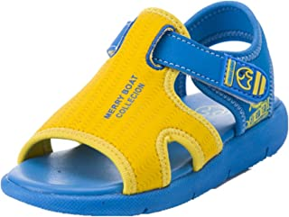 HILEELANG Colorful Open Toe Shoes Kids Toddler Little Boy Girl Sports Outdoor Beach Light Sandals 3-6Y