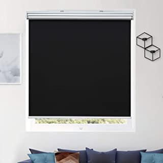 Blackout Blinds Roller Plain Window Shades UV Protection Home Hotel Decoration