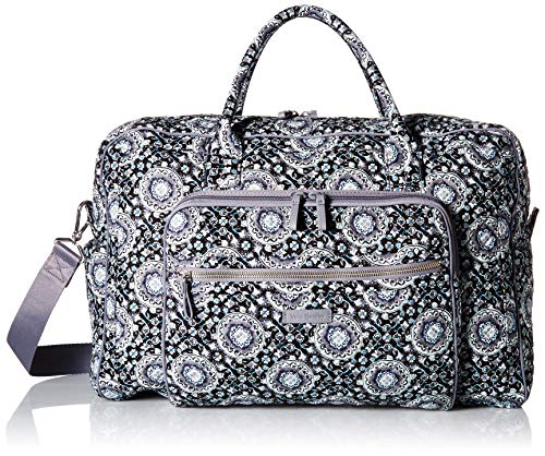 Vera Bradley Iconic Weekender Travel Bag,  Signature Cotton, One Size