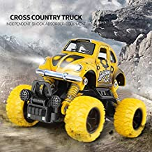 SaleOn™ Unbreakable Diecast Mini Monster Truck Pull Back Mechanism with Rubber Tyre and Jumper (Assorted Color)-980