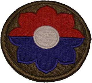 9TH INFANTRY DIVISION UNIT PATCH - Multi-colored - Veteran Owned Business