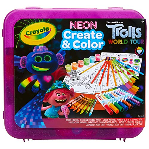 Crayola Trolls World Tour, Neon Create &...