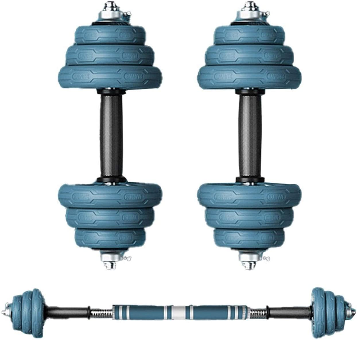 Dumbbell Set 2 in 1 Fitness Large discharge sale Barbell At the price Adjustable