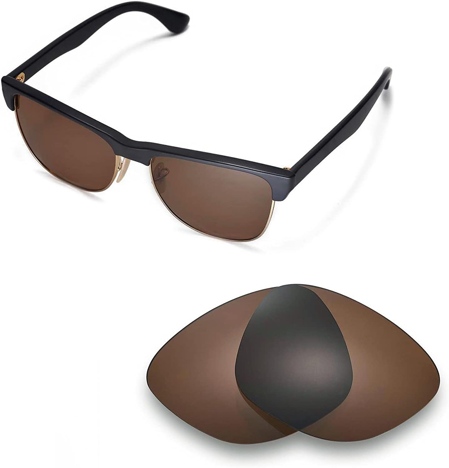 Walleva Replacement Lenses for favorite Ray-Ban Op - Some reservation RB4175 Multiple 57mm