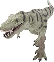 Zerodis- Juguete de Dinosaurio, Estatua Modelo Animal Sólido Educativo Mundo Jurásico Juguetes de Dinosaurio Simulados de Plástico Juego para Niños Pequeños(Raya)