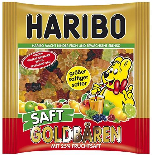 Haribo Saft-Goldbären 450-g-Beutel