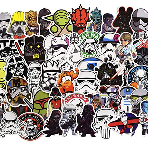 Star Wars Graffiti Stickers Voor Computer Ps4 Pad Telefoon Laptop Tv Koelkast Fiets Waterdichte Sticker 100 stks/set