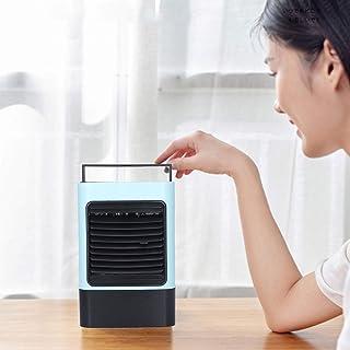 空冷ファン、家庭用オフィス用アンビエントライト付き600ml冷却ファン(blue, Pisa Leaning Tower Type)