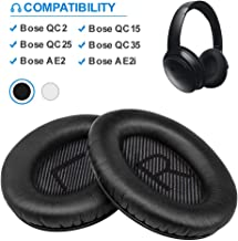Bose Quiet Comfort 35 Replacemen Ear Cushions Kit by Link Dream Soft Protein Leather..