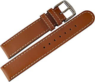 Di-Modell Jumbo 18mm Tan Leather Watch Strap