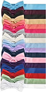 Satin Preformed Bow Adjustable Sash Belt 14 Colors Infant to Teen