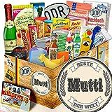 Geschenkset Ostpaket 24tlg. / mit Buch - Marken der DDR / Beste Mutti der Welt