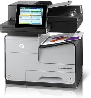 HP Officejet X585Z Inkjet Multifunction Printer - Color - Plain Paper Print B5L06A#BGJ (Renewed)