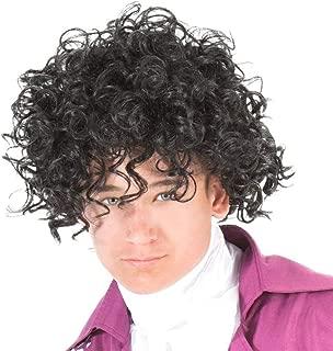 Prince Music Adult Costume Wig Black