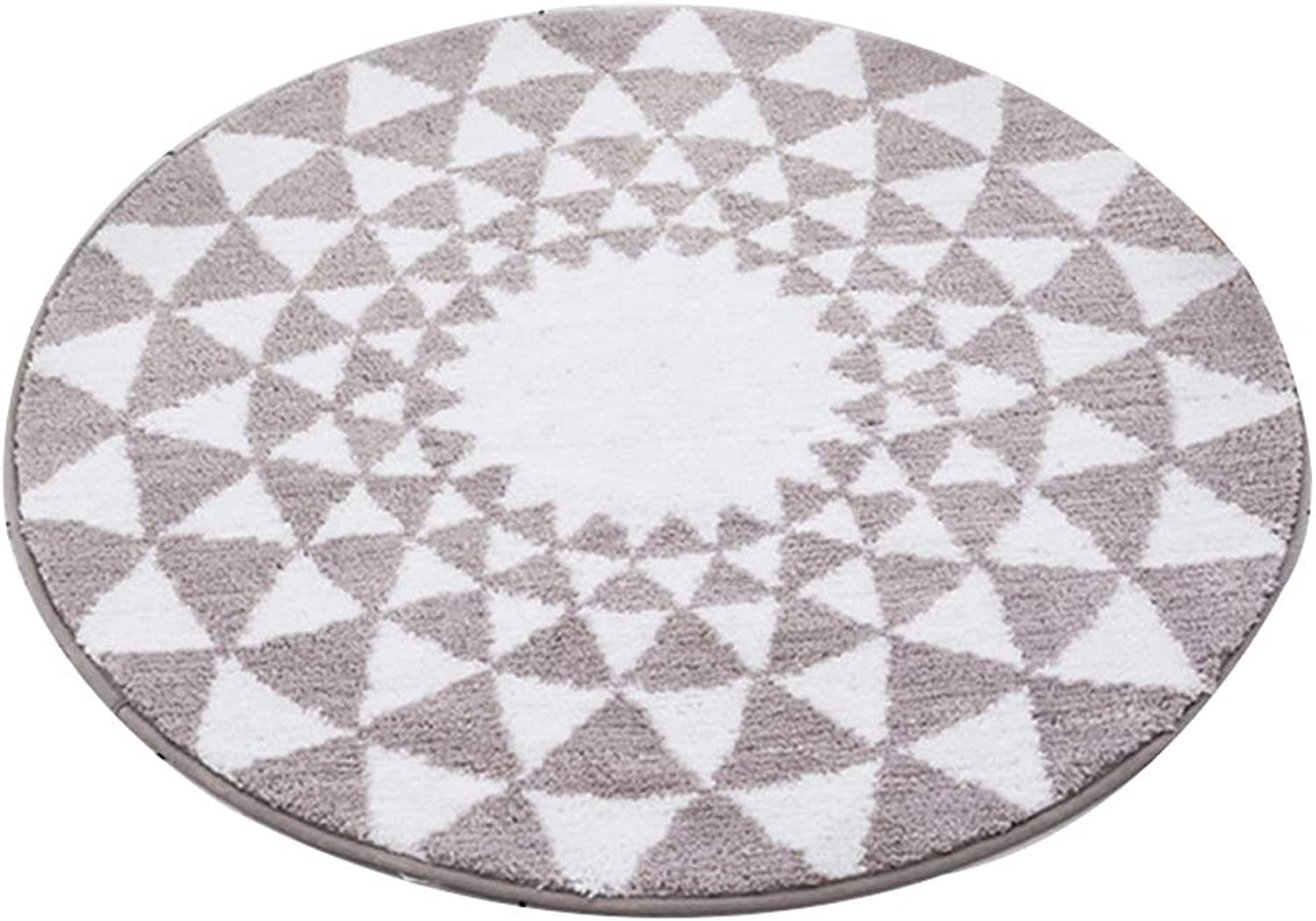 Style Nordic Bedroom Mats Living Room Coffee Table Swivel Chair Door Mats Round Carpet Home Hanging Basket Computer Chair Bedside Blanket (can Be Cut)