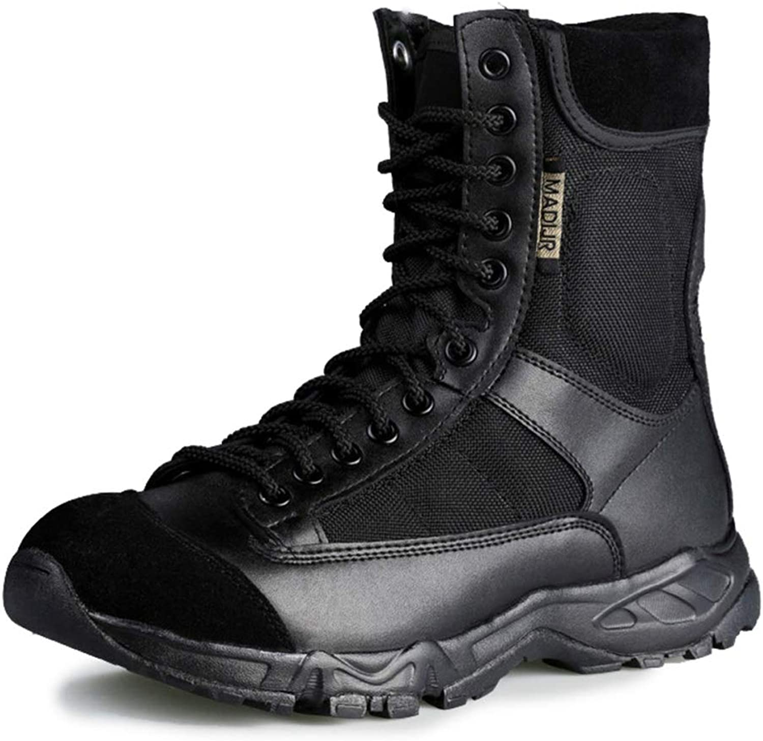 GTYW, Men's Cqb Ultralight Combat Boots, Outdoor Commando Tactical Airborne Boots Hiking Boots, 38-44