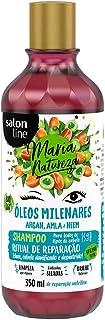Shampoo Maria Natureza Óleos Milenares Ritual Reparação, Salon Line, 350ml