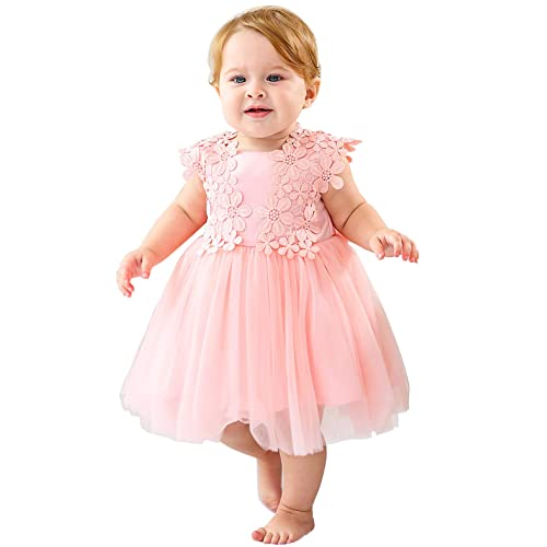 BABY GIRL GORGEOUS PARTY WEDDING DRESS WITH BEAUTIFUL HAT 6 TO 24 MONTHS