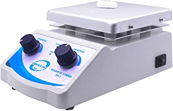SH-2 Hot Plate Magnetic Stirrer Mixer Dual Control with 1 inch Stir Bar (New Style)