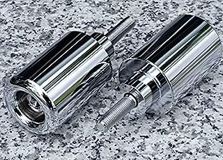i5 CHROME FRAME SLIDERS for Honda CBR929RR CBR954RR CBR929 CBR954 CBR 929 954 RR 929RR 954RR 2000-2003