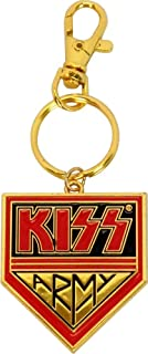 KISS Army - Logo on Gold - Key Chain