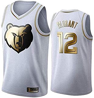 NBA Grizzlies Basketball Jerseys,Ja Morant 9# Men's Basketball Clothes Cool Breathable Fabric Swingman Sleeveless Vest Top...
