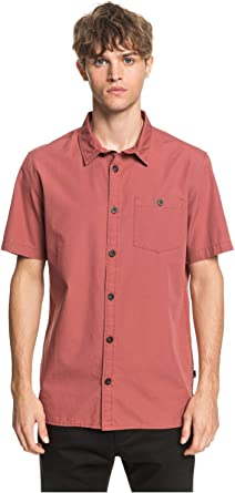 Quiksilver Taxer - Camisa de Manga Corta para Hombre EQYWT03979