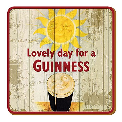 Guinness sottobicchieri con motivo Smiling Pint