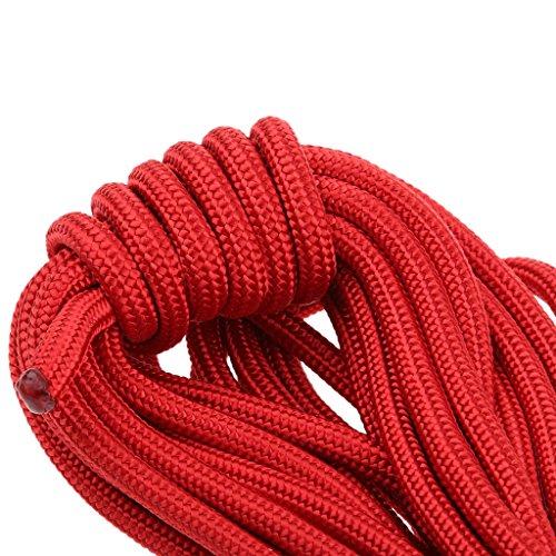 Pro Escalade Corde de Sécurité de Survie Corde Auxiliaire Randonnée - Rouge , 20m